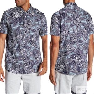 Ted Baker London On Time Floral Button Down Shirt